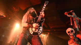 Zakk Wylde performs in support of Black Label Society's Grimmest Hits at Ace of Spades on February 21, 2018 in Sacramento, California