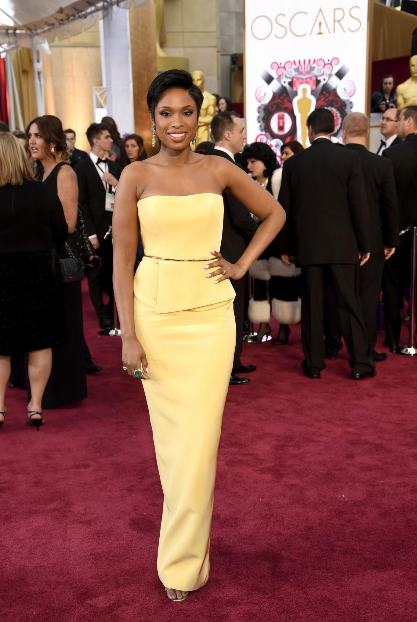 Jennifer Hudson :See the best dressed at 2015 Oscars.