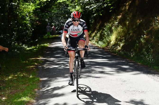Dan Martin tried a solo move during stage 15 at the Tour de France