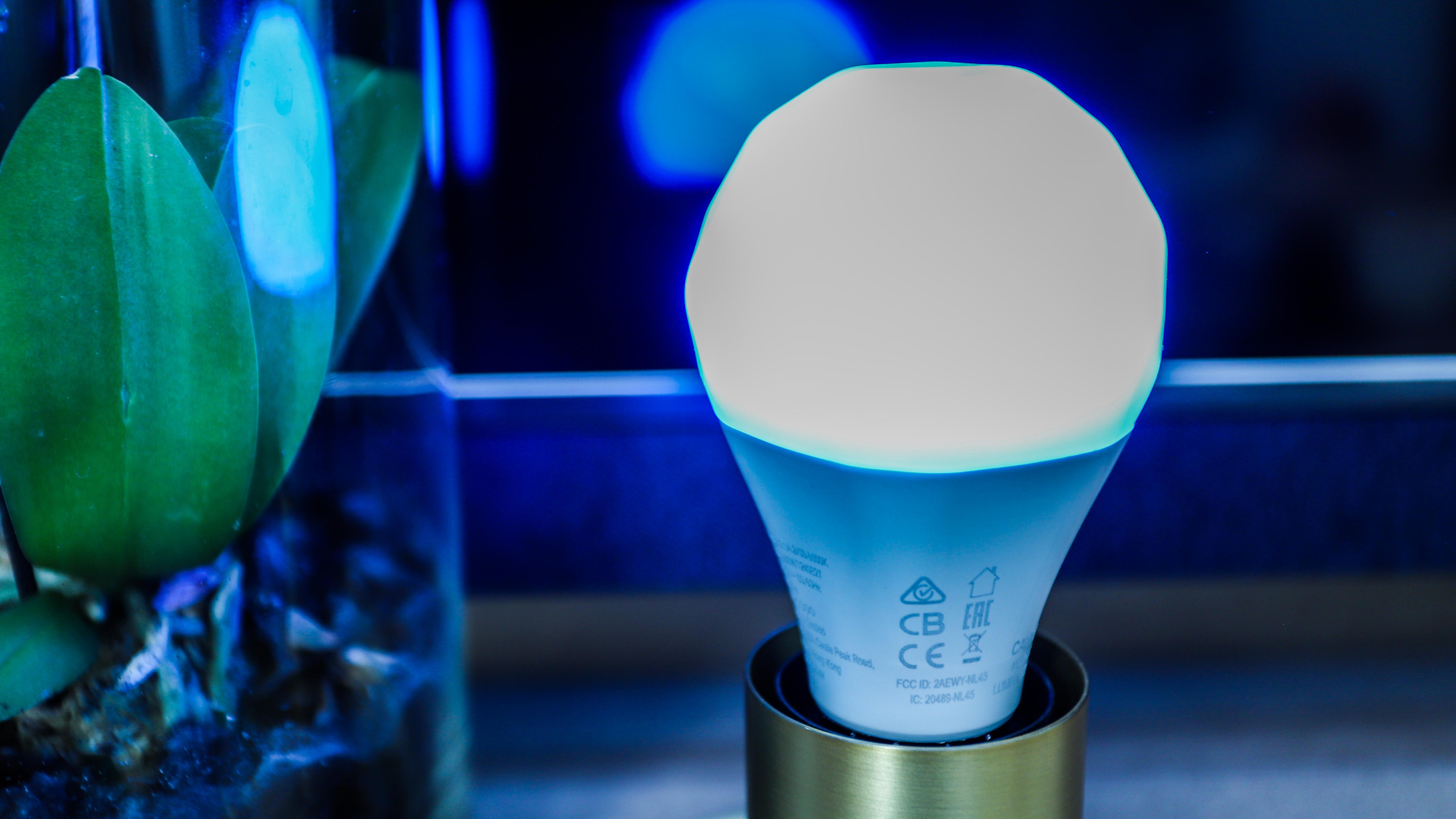Nanoleaf Essentials smart bulb