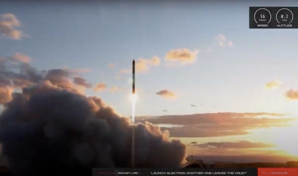 Rocket Lab launches microsatellite to orbit in its 1st mission of 2021