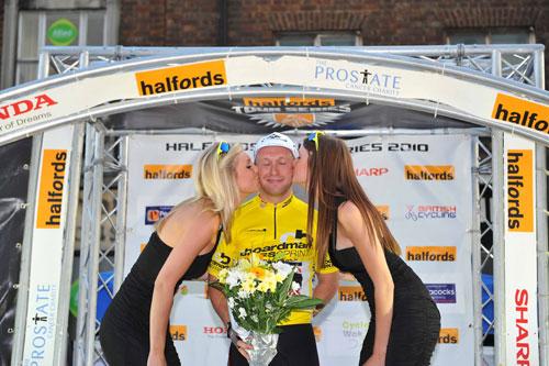 Jefte De Bruin wins Boardman sprints in final round, Tour Series 2010 round 10 Woking