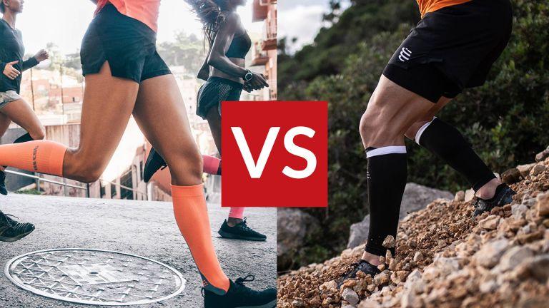 Compression socks vs compression sleeves