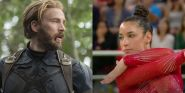 Chris Evans And Olympian Aly Raisman Had An Adorable Pup Playdate Over The Weekend