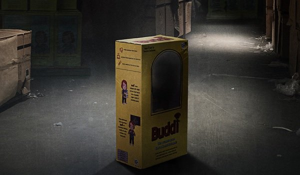 Child's Play a warehouse with a missing Buddi
