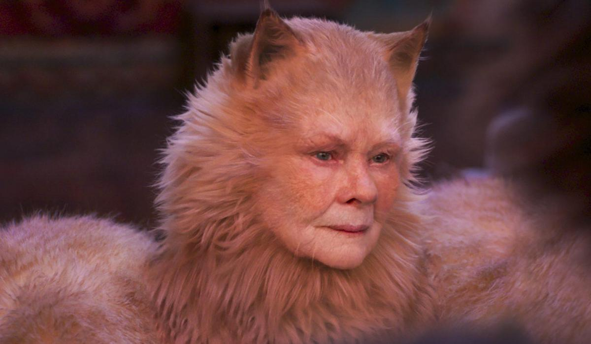 Judi Dench as Old Deuteronomy in Cats