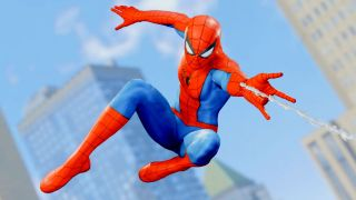 Check out the web-swinging intro to Insomniac's Spider-Man remade in