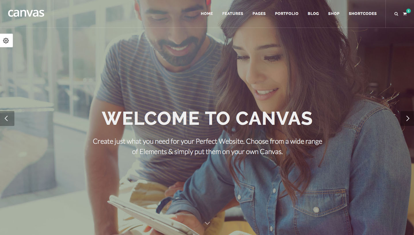 The 10 best HTML5 template designs: Canvas