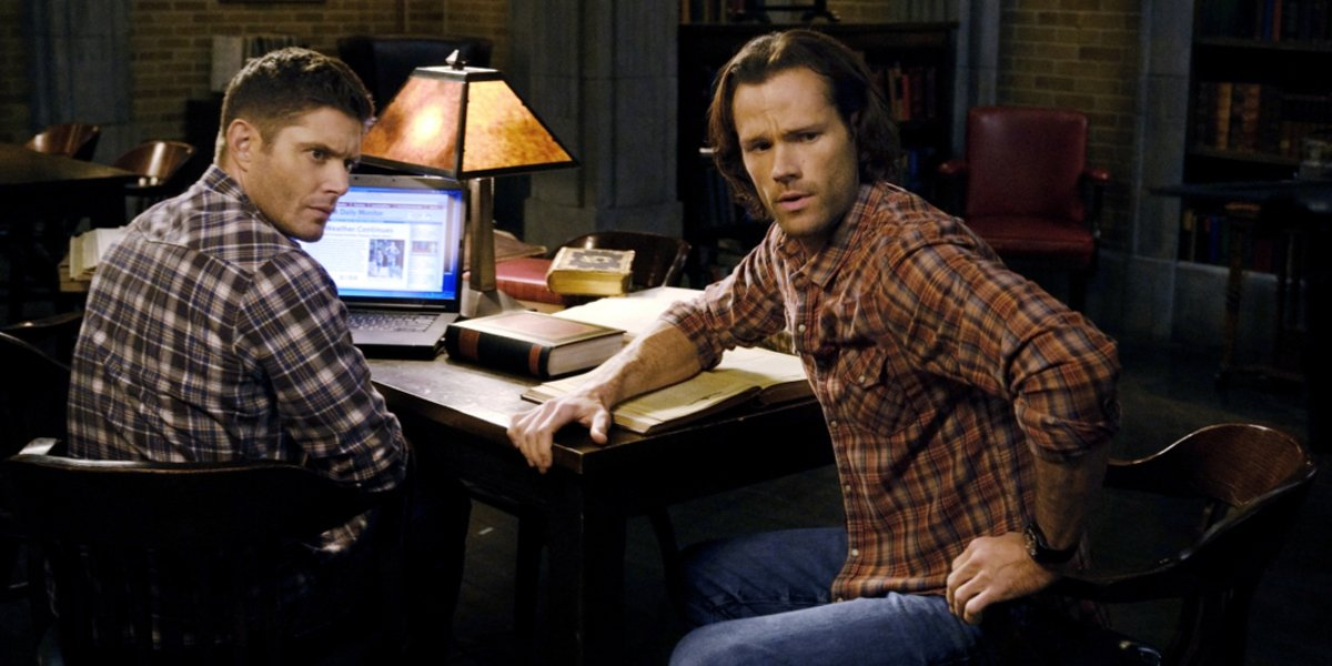 supernatural season 15 the cw sam and dean winchester