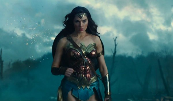 Wonder Woman Gal Gadot No man's land scene