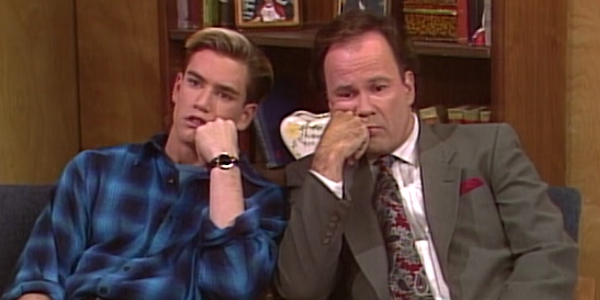 zack and mr. belding saved by the bell graduation