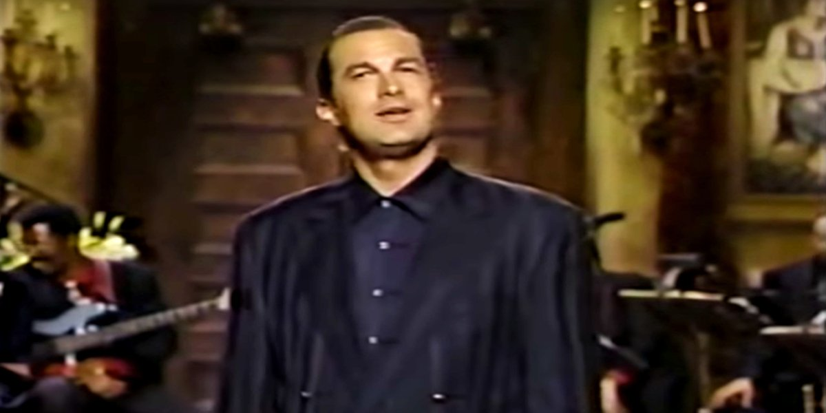 Steven Seagal on Saturday Night Live