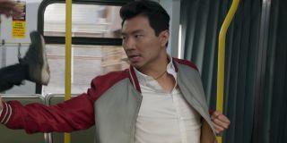 Simu Liu in Shang-Chi bus fight