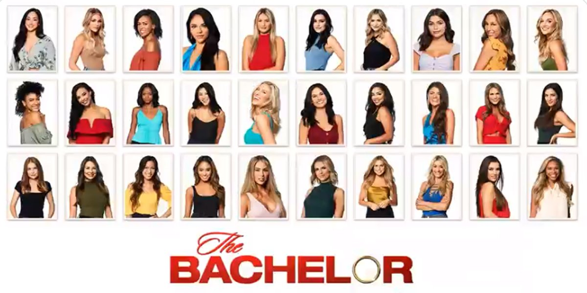 The Bachelor 2020 cast