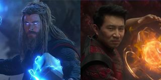 Thor and Shang-Chi side by side