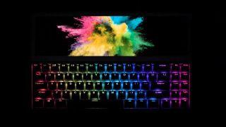 The FICIHP keyboard, in the dark