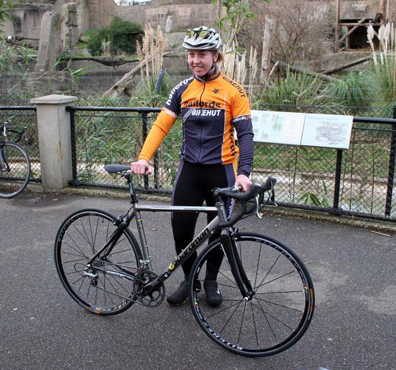 Nicole Cooke Halfords Bikehut