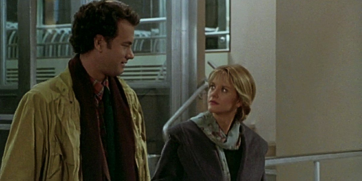 Meg Ryan and Tom Hanks in Sleepless in Seattle