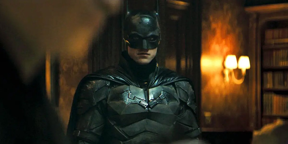 Robert Pattinson as Batman in The Batman