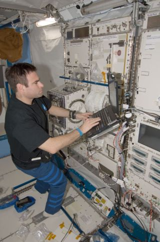 Space Station Computers Catch Virus in Orbit