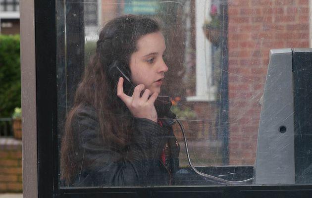 Amy in Coronation Street
