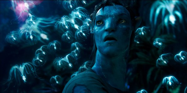 jake as na'vi with small flying creatures avatar