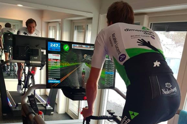 98bb6ca4f Edvald Boasson-Hagen used cycling treadmill for monster six-hour Zwift  training ride