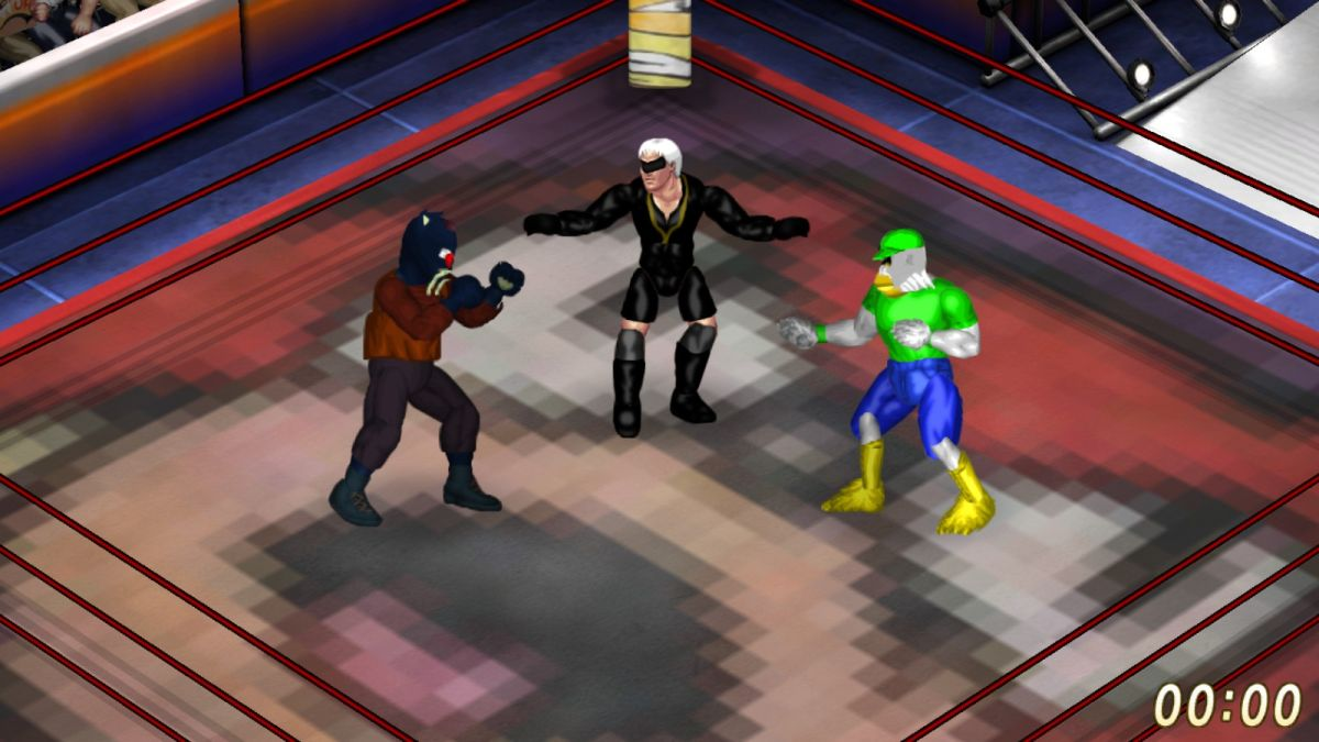 Suda51 is writing a DLC story for Fire Pro Wrestling World