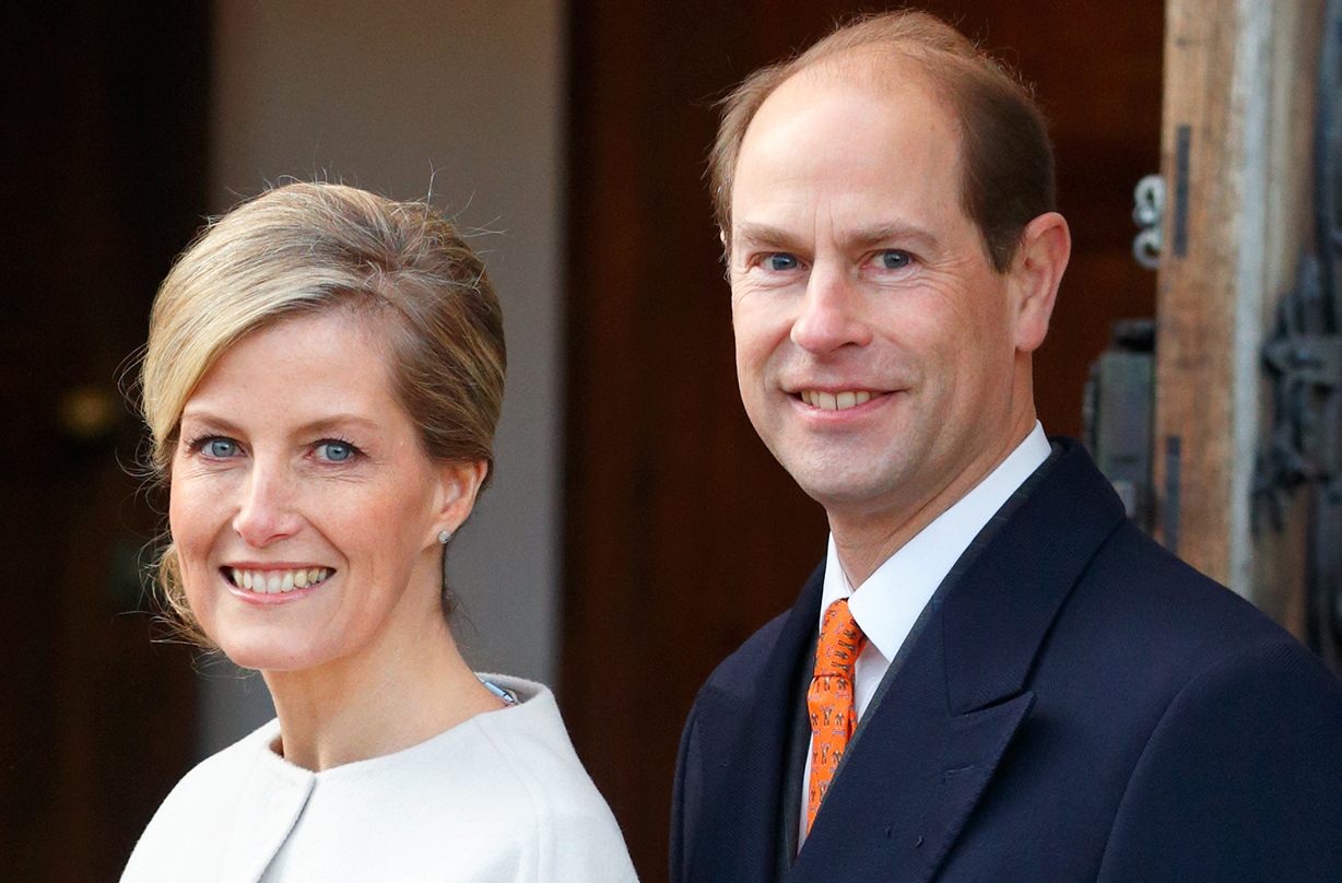prince edward birthday surprise sophie countess wessex
