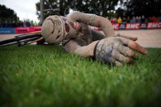 Paris Roubaix 2021 -118th Edition - Denain - Roubaix 257,7 km - 03/10/2021 - Sonny Colbrelli (ITA - Bahrain Victorious) - photo Etienne Garnier/BettiniPhoto©2021.