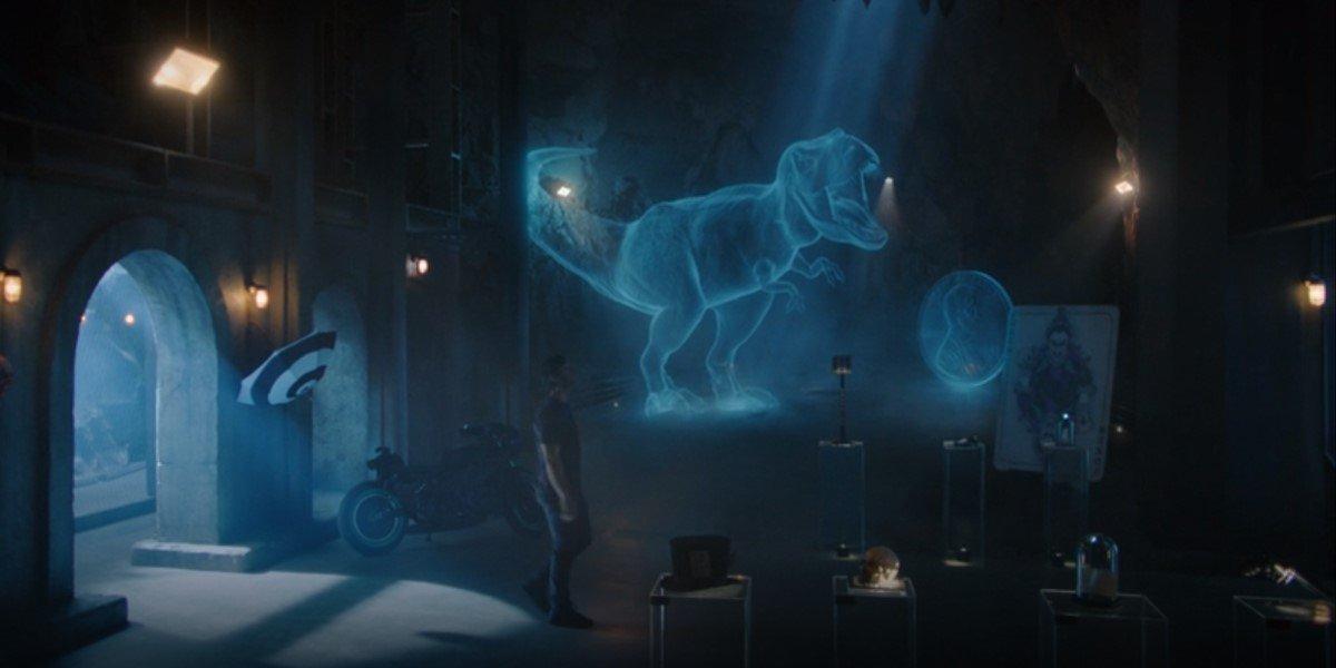 dick grayson walking through batcave in titans season 3 premiere