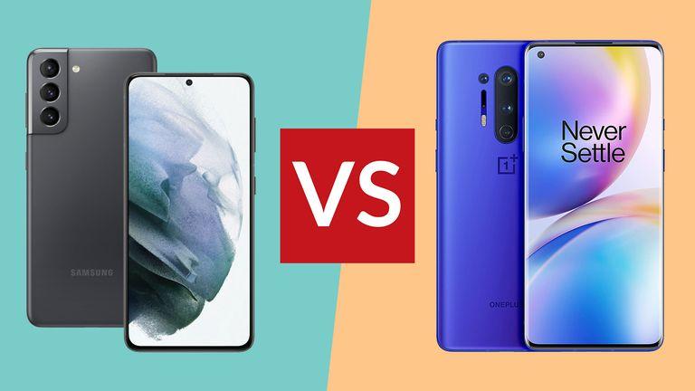Samsung Galaxy S21 vs OnePlus 8 Pro