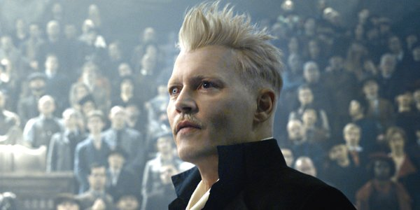 Johnny Depp Fantastic Beasts: The Crimes of Grindelwald Warner Bros.