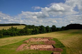 dorstone hill excavation site