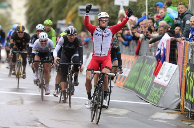 Alexander Kristoff wins the 2014 Milan-San Remo