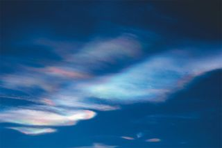 polar clouds in stratosphere