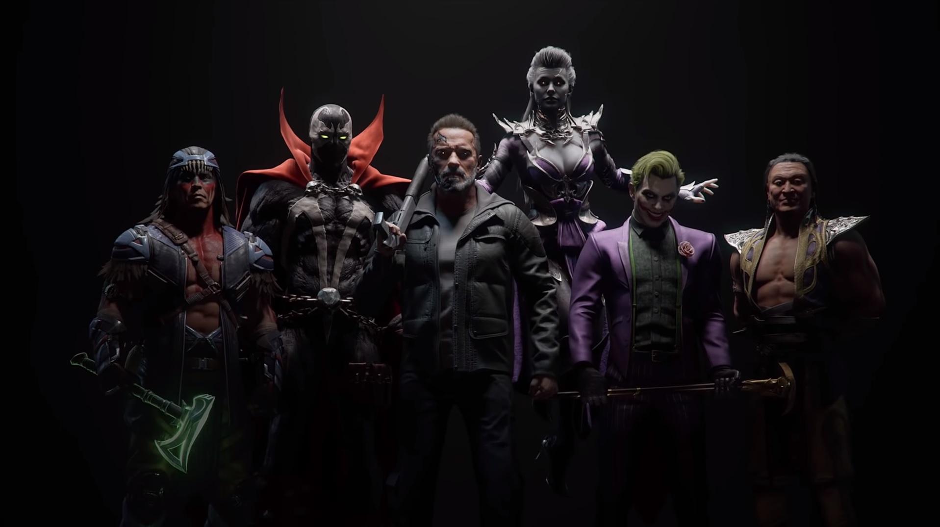 Mortal Kombat 11's full DLC character roster is here   PC Gamer