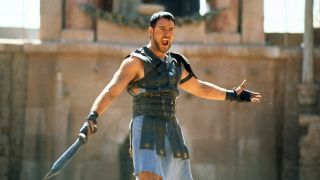 Russell Crowe reveals Thor Love and Thunder role — Crowe in Gladiator