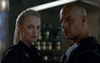 Fast and Furious 8 aka The Fate of the Furious Charlize Theron Vin Diesel