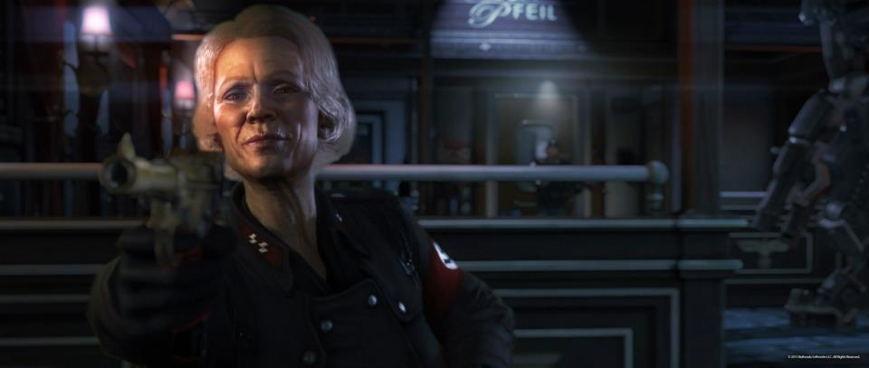 Wolfenstein: The New Order Screenshots Imagine Nazi Global Empire #26737