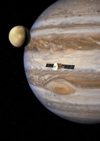 The European Space Agency's Jupiter Icy Moons Explorer mission launches in 2022 and arrives at Jupiter in 2030.