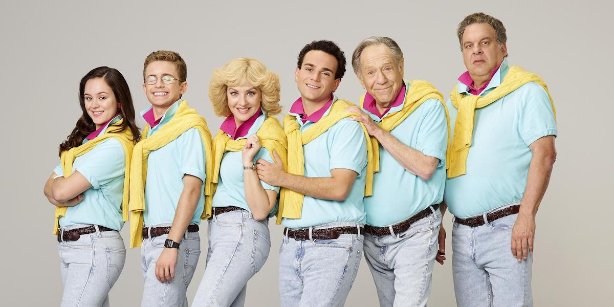 The Cast of ABC's The Goldbergs