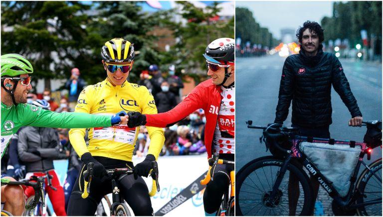 Lachlan Morton has completed his solo Tour de France