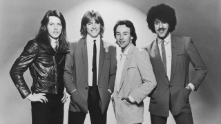 A portrait of Thin Lizzy in 1980