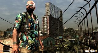 Max Payne in Hawaiian shirt