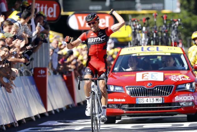 Greg Van Avermaet wins Stage 5 and takes the Yellow Jersey at the 2016 Tour de France