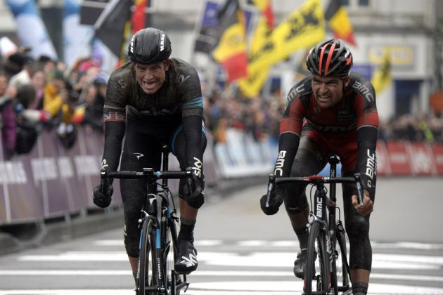 Ian Stannard wins the 2014 Omloop Het Nieuwsblad