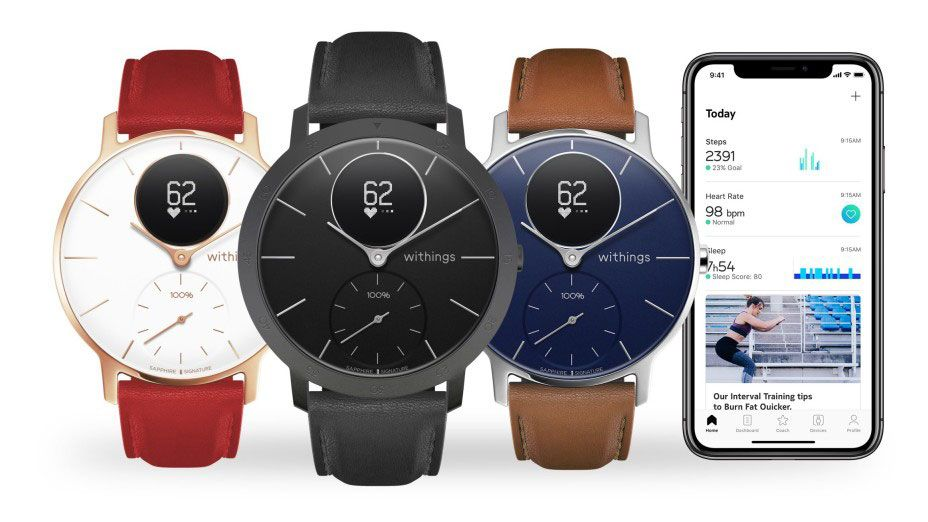 This Withings smartwatch now looks better than ever in a new Sapphire edition