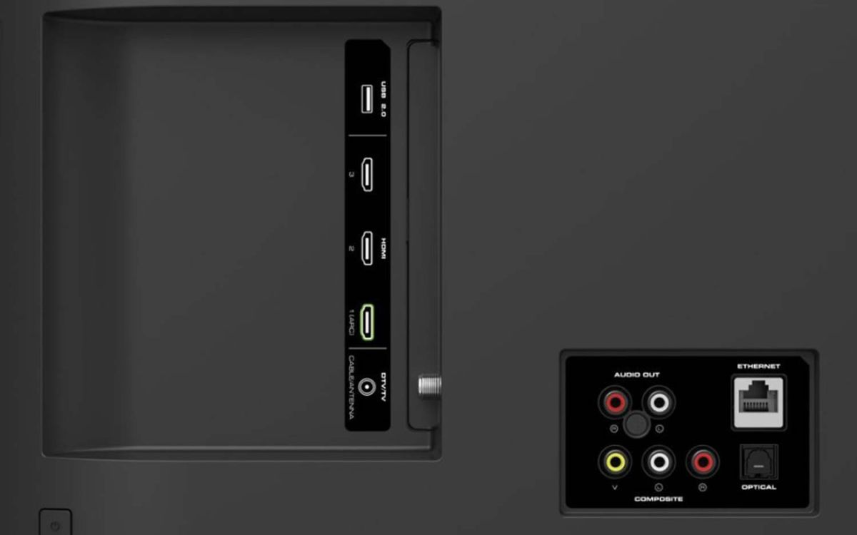 Vizio V-Series 50-inch 4K HDR Smart TV (V505-G9) - Full