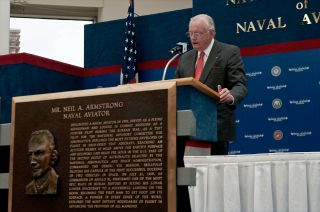 Armstrong Acceptance Speech Naval Aviation Hall of Honor